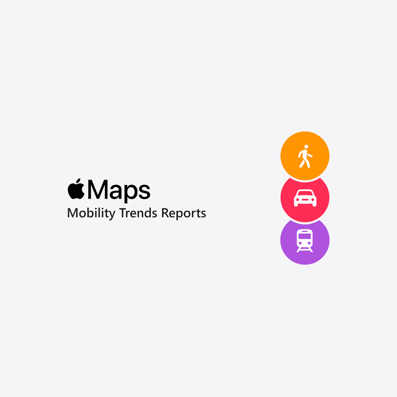 Apple Maps - Mobility Trends Reports