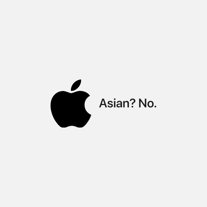 Apple, Asian, No