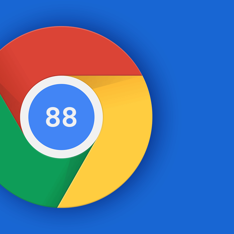 Google Chrome version 88