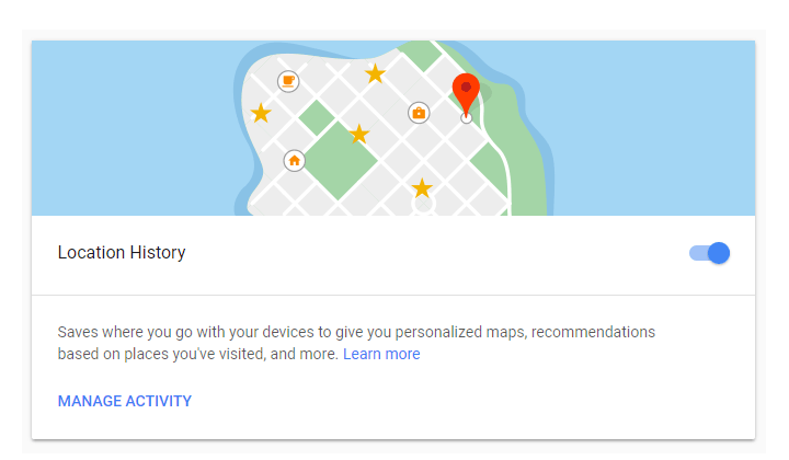 Google - Location History