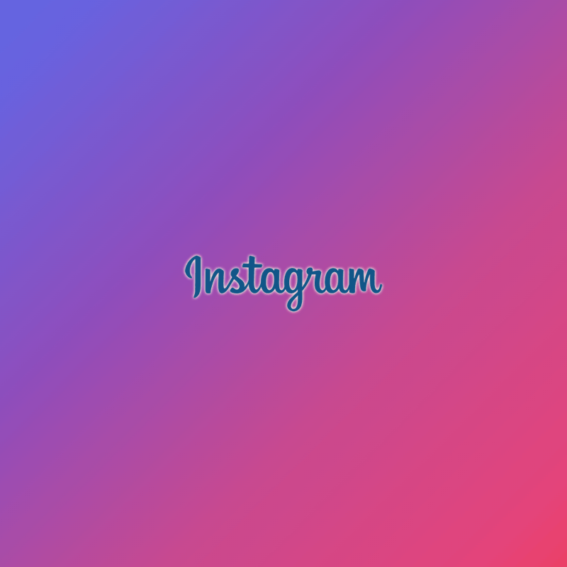Instagram logo - rainbow gradient background