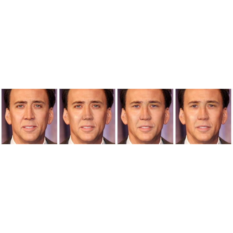 Nicolas Cage - face de-identification