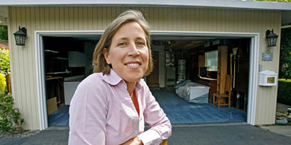 Susan Wojcicki - Google's first office