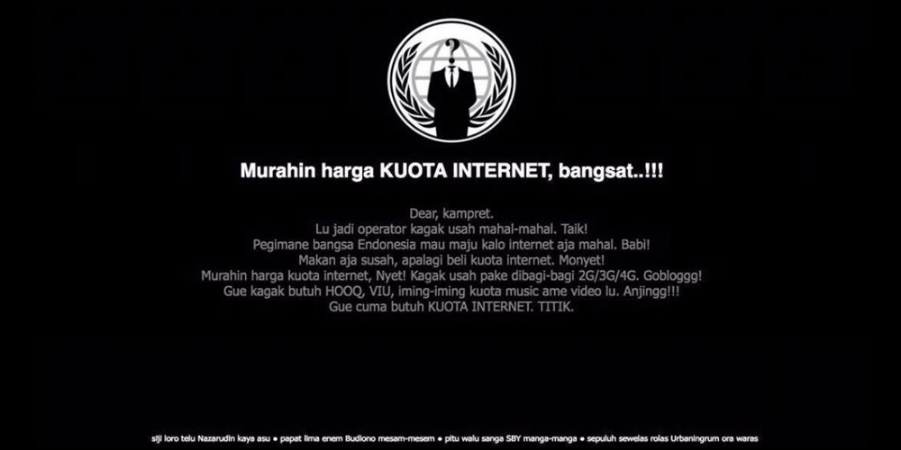 Indonesia's Telkomsel website defaced with profanity messages | Page