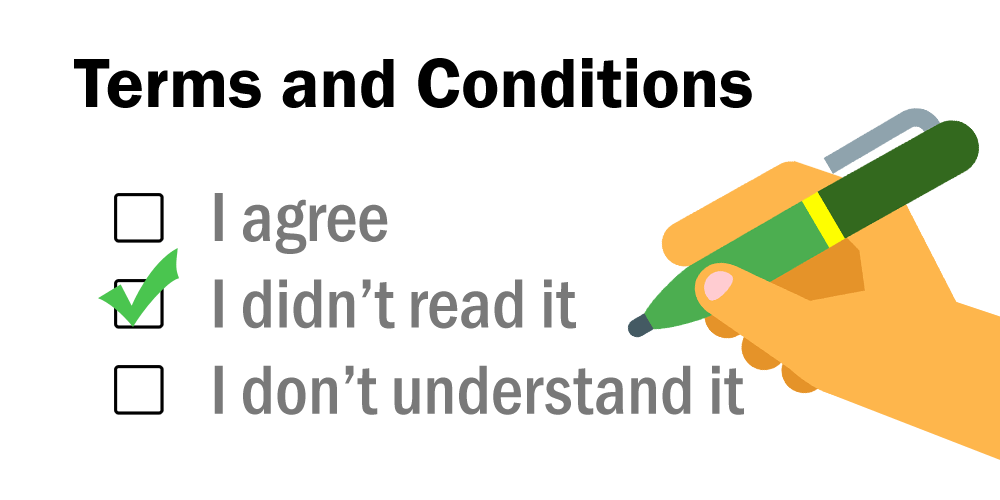 """Why You Should Read Everything Before """"I Agree To The Terms And Conditions""""  